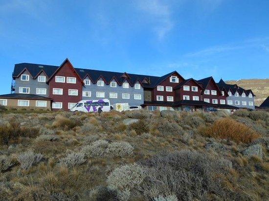 Alto Calafate Hotel Patagonico: Vista del hotel