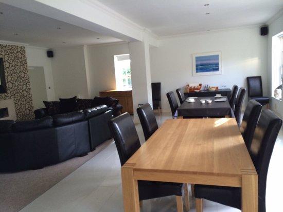Glangwili Mansion: Dining room