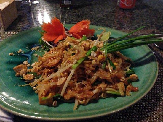 Casa Sakoo Resort: pad thai made in Casa Sako