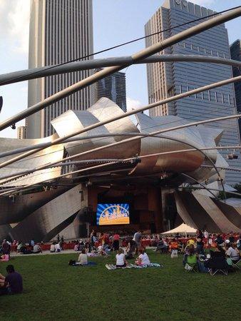 "Jay Pritzker Pavilion: Impressive architecture ""chaos tamed"""