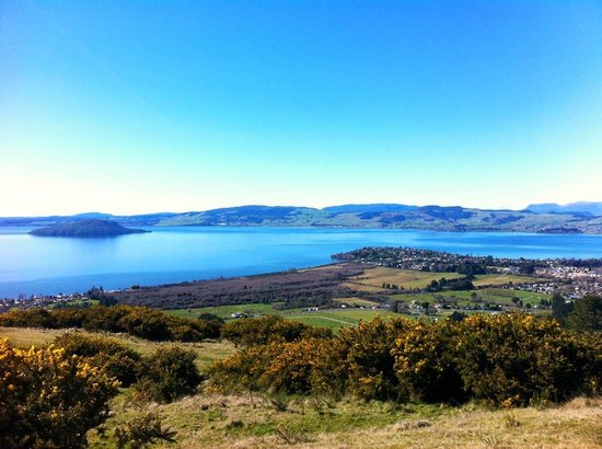 Adventure Playground: The view of Rotorua