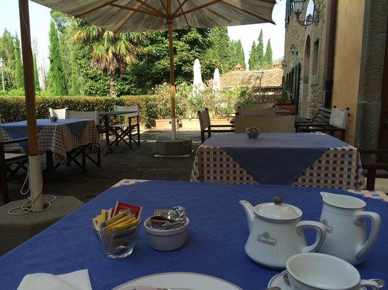 Borgo il Melone: nice breakfast setting