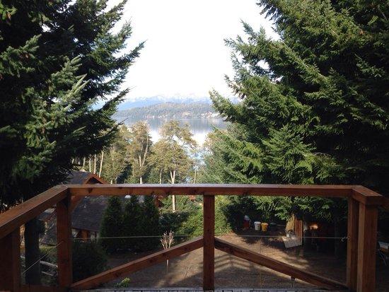 Colina del Manzano: Vista desde el balcón