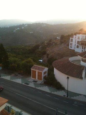 Hotel Villa Frigiliana: Vistas desde la terraza