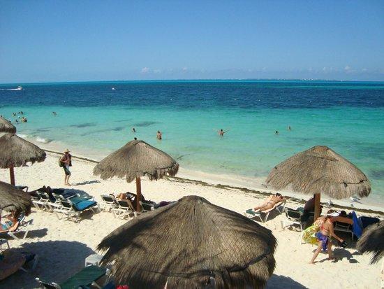 Hotel Riu Caribe : Vista do hotel