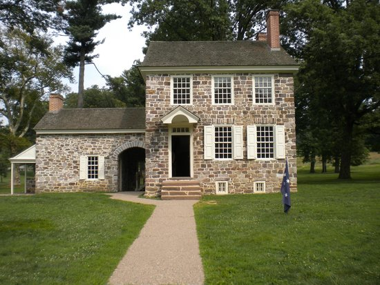 Valley Forge National Historical Park : Washington's house