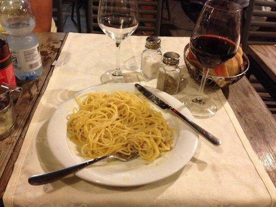 Aciugheta: Spaghetti alla Carbonara