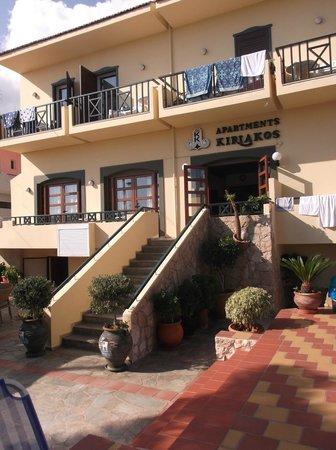 Kiriakos Apartments front