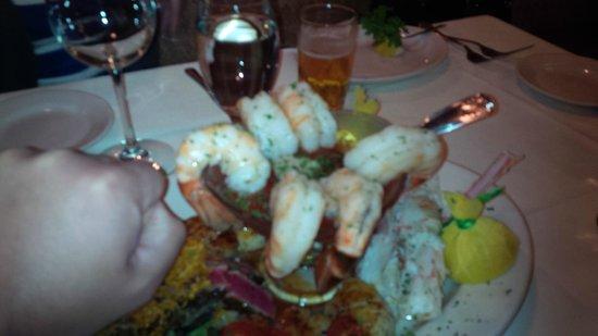 Chicago Chop House: Shrimp were good