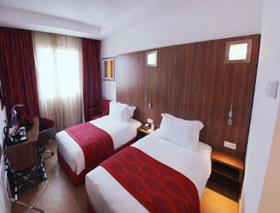 Ramada Encore Tangier : Two Twin Bed Room