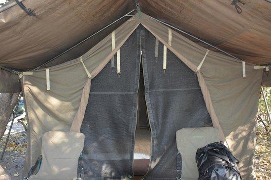 andBeyond Savute Under Canvas: Tent