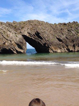 Playa de Gulpiyuri: Wow
