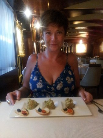 Hotel Anel Restaurant's Salmon Tartare
