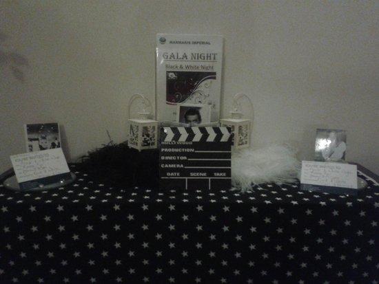 TUI SENSIMAR Marmaris Imperial Hotel: black and white gala night