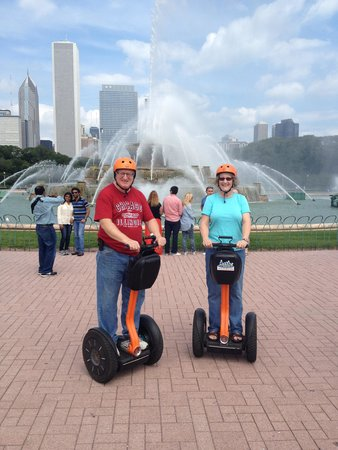 Absolutely Chicago Segway Tours: on the Segways in Chicago