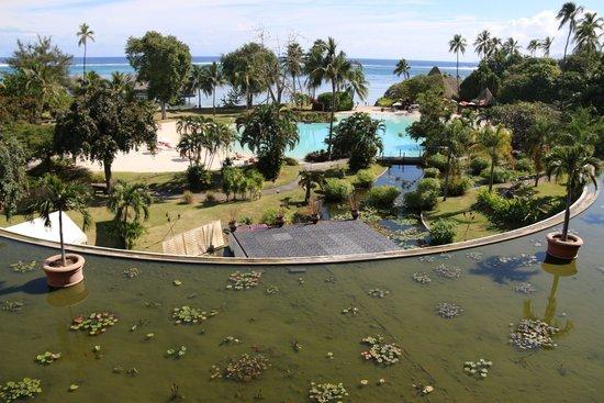 Le Meridien Tahiti: Sea view from the room 563