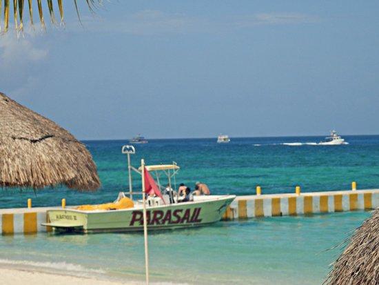 Allegro Cozumel: the beach