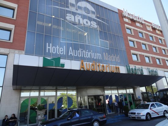 Madrid Marriott Auditorium Hotel & Conference Center: Hotel Auditorium