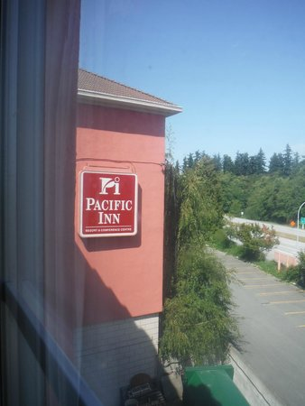 Pacific Inn Resort and Conference Centre : View from our room