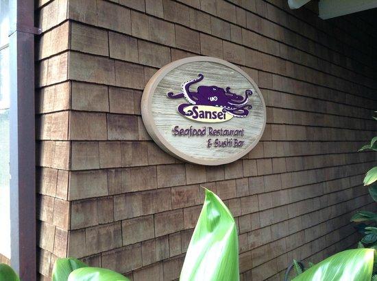 Sansei Seafood Restaurant & Sushi Bar: Exterior