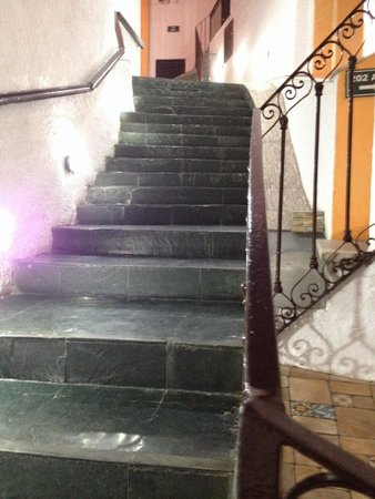 Serra da Estrela Hotel : parte da escada