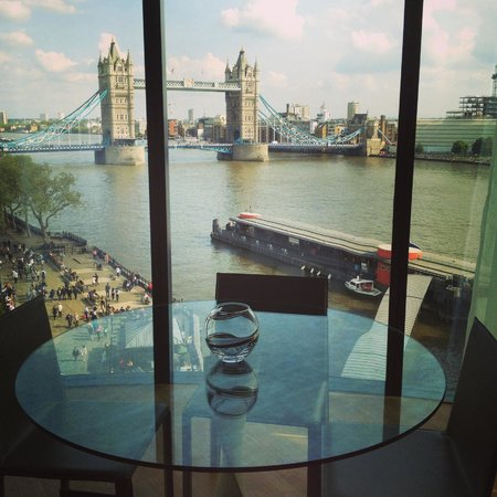 Cheval Three Quays: View from our dining room table.
