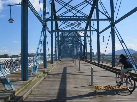 Walnut Street Bridge: bridge