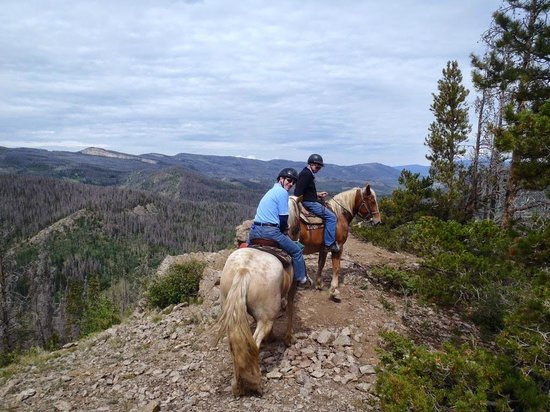 Sombrero Stables at Snow Mountain Ranch: View from the top of Snow Mountain