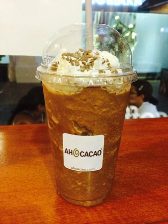 Ah Cacao Chocolate Café: Cool chocolatey coffee goodness!