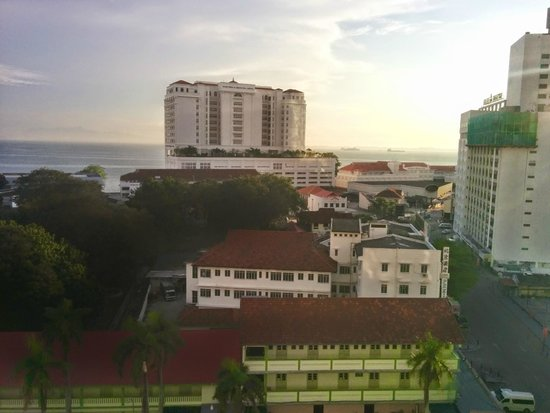 Cititel Penang : view from my room