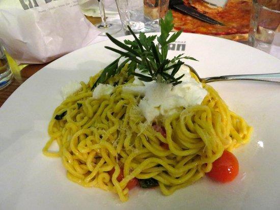 """La Rouvenaz : Spaghetti alla Chitarra """"Tricolori"""""""