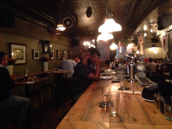 Rubirosa : The view from the bar: Small and cozy