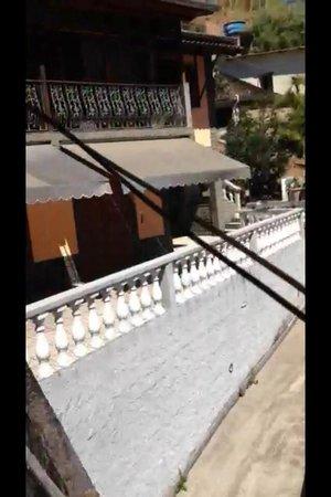 Serra da Estrela Hotel : gato net vista da janela