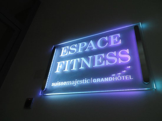 Grand Hotel Suisse Majestic: Fitness center