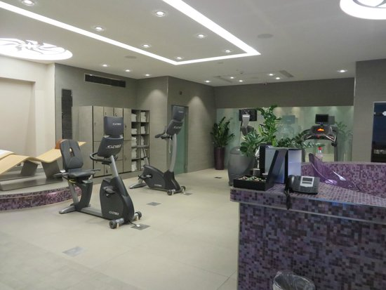 Grand Hotel Suisse Majestic : Fitness center