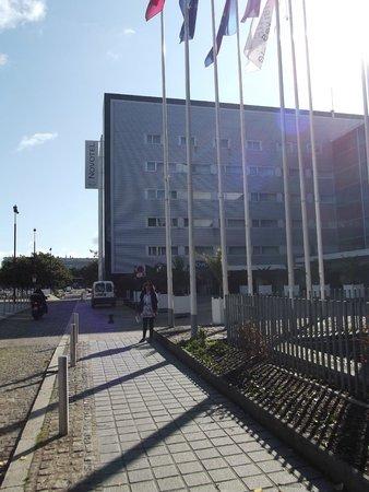 Novotel Nantes Centre Gare : facciata lato ingresso