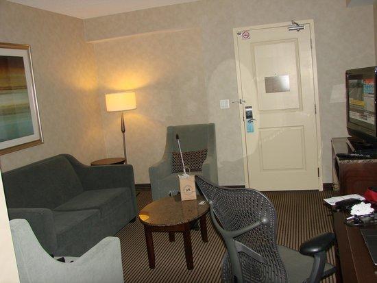 Hilton Garden Inn Toronto Airport West/Mississauga : Sitting room