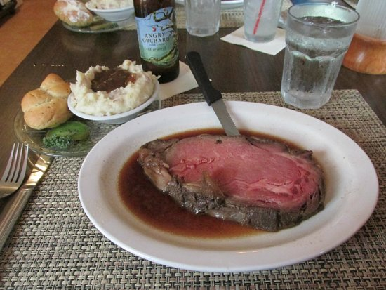 Old Channel Inn : My prime rib this year, medium rare (not always available so ask).