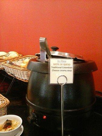 Decameron Isleño: Comida de muy buena calidad. Sopa colombiana, riquísima.