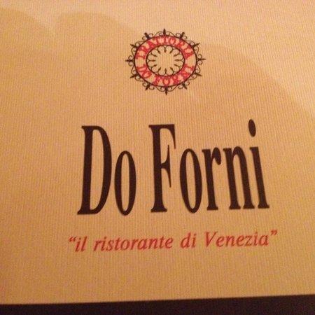 Trattoria Do Forni: Name