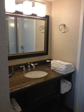 Las Vegas Marriott: Vanity area