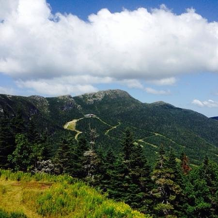 Mount Mansfield from the Summit chair at Stowe