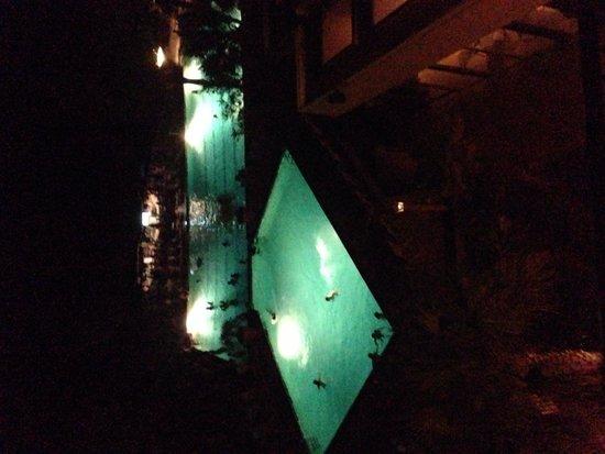 Hilton Head Marriott Resort & Spa: Pool at night