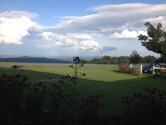 Cooper Hill Inn: view from the porch