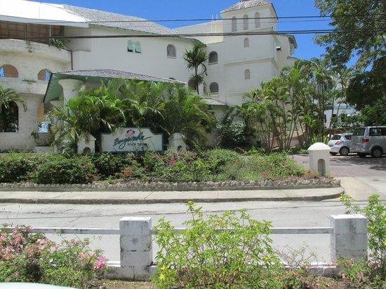 Bougainvillea Beach Resort : Street Side