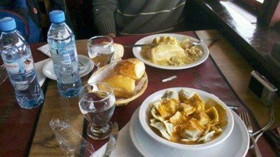 Cerro Otto: Almuerzo
