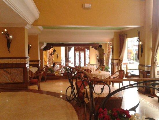 Hotel Las Margaritas: Restaurante