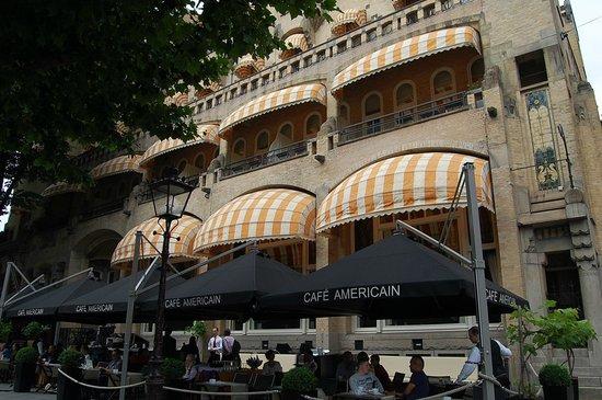 Hampshire Hotel - Amsterdam American: 外観