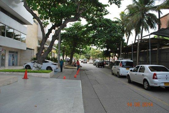 Hotel Capilla del Mar: entrada
