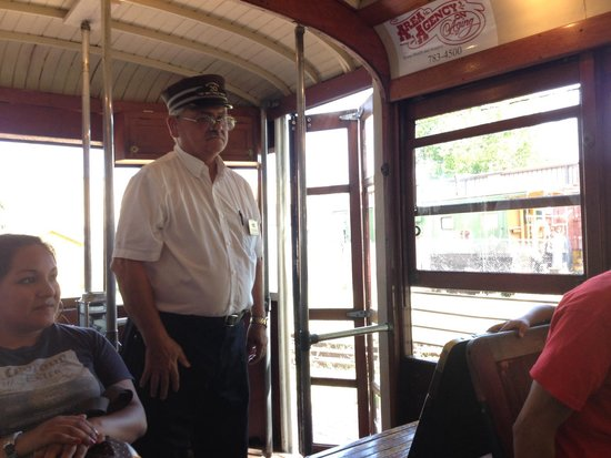 Fort Smith Trolley Museum: Volunteer Trolley Conductor